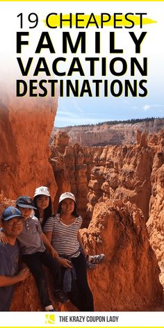 What are the cheapest family vacation destinations in the United States? How can I plan a family vacation but stay on budget? Family, kid-friendly vacations are a non-negotiable each summer! Save money on vacation by look for little hidden gems within driving distance that don't cost much money. The Krazy Coupon Lady shows you resorts, water parks, national monuments, national parks, & destination cities across the US where a family summer vacation is cheap for parents! Cheap Family Vacations, Kid Friendly Vacations, Family Vacation Spots, Family Vacation Destinations, Family Travel, Vacation Ideas, Places To Travel, Places To Visit, Water Parks