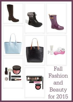 Fall Fashion and Beauty for 2015
