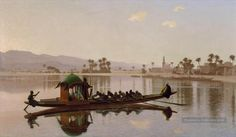 7-Excursion-of-the-Harem-Greek-Arabian-Orientalism-Jean-Leon-Gerome.jpg (1200×698)