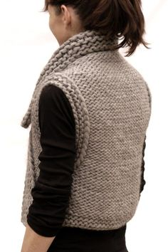 Instructions to make the October Vest PDF Pattern by karenclements