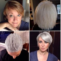How to Gracefully Transition to Gray Hair After Years of Coloring | Modern Salon