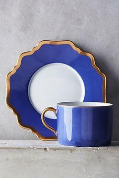 Anna's Palette Cup & Saucer