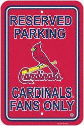 St. Louis Cardinals Parking Sign - Set of 2