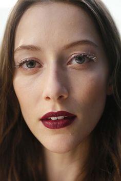 Carolina Herrera 2015 MAkeup eyes backstage  #makeup #eyes #carolinaherrera #2015