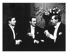 Alfred Eisenstaedt, Nathan Milstein, Vladimir Horowitz, Gregor Piatigorsky, Berlin, Germany, 1931