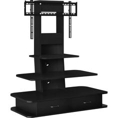 Looking for Ameriwood Home Galaxy TV Stand Mount Drawers TVs 70 Wide, Black ? Check out our picks for the Ameriwood Home Galaxy TV Stand Mount Drawers TVs 70 Wide, Black from the popular stores - all in one. Black Corner Tv Stand, Black Glass Tv Stand, Corner Tv Stands, Cool Tv Stands, 55 Inch Tv Stand, 65 Tv Stand, Tv Stand With Mount, Stand Tall, Tv Stand With Drawers
