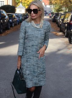 Fashion Trends for Women Over 50 - Fashion Trends Fashion For Women Over 40, Office Fashion, Fashion Over 50, Look Fashion, Mode Outfits, Fashion Outfits, Fashion Trends, Prep Style, My Style