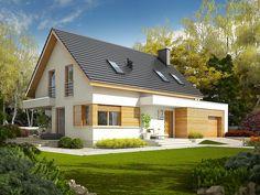 Facade Design, House Design, Gable House, Fire Doors, Types Of Doors, Modern Architecture House, Loft Style, Facade House, Design Case