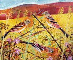 Hedge Birds - Mary Sumner