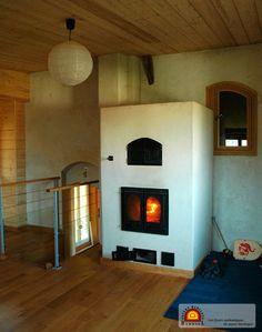 POELE DE MASSE exemples de réalisations de Foyers de masse en France Europe Québec Canada Les foyers radiants DEBRIEL