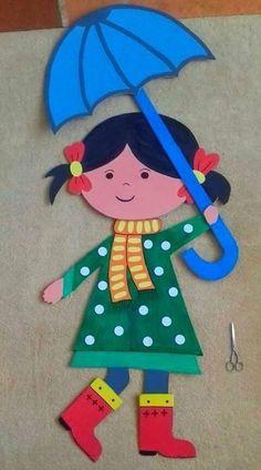 Fall Crafts, Christmas Crafts, Diy And Crafts, Crafts For Kids, Arts And Crafts, Paper Crafts, Diy Paper, Art Drawings For Kids, Drawing For Kids