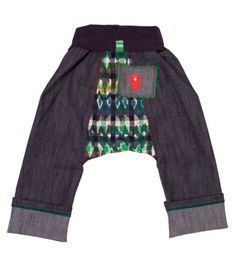 a90131a6b84 Make pants using a pattern like this - room for a cloth nappy bottom Harem  Jeans