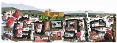 1,000th anniversary of the Kingdom of Granada with a doodle illustrating the city's iconic architecture and the Moorish palace, the Alhambra.