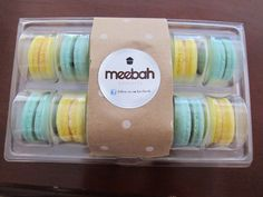 5 or 10 Plastic Macaron Packaging 12 Cavities by Meebah on Etsy