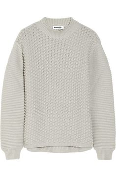 I wish I was snuggling up in this Jil Sander today