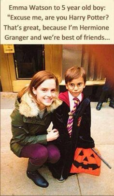 And I thought I couldn't love Emma Watson any more than I do already...