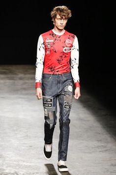 Topman Menswear Spring Summer 2016 in London