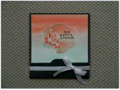 Karte im Aquarell-Look, Aqua Painter®, card with aquarell technike, sale-a-bration 2012, Etwas ganz Besonderes, Stempelset Liebesgrüße, Envelope Punch Board