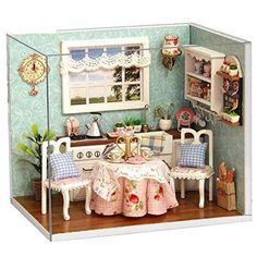 Perfect Kitchen Kit. www.teeliesfairygarden.com . . . This DIY kit will allow you to  build and design a dollhouse kitchen! #fairykits