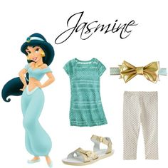 Jasmine Inspired Casual Girl Outfit