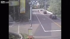 LiveLeak - Two Scooters, One Car