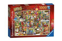 Puzzle Ravensburger - Craciun - Colin Thompson, 1000 piese (19468) University Of Colorado, State Map, Puzzle, Chrome, Baseball Cards, Postcards, Cabinet, Ebay, Modern