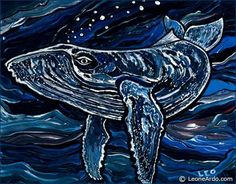 Unique And Unusual Gifts For Whale Lovers Great Whale, Whale Painting, Whale Art, Wale, Humpback Whale, Unusual Gifts, Art Google, Abstract Expressionism, Art Projects