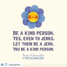 #Repost @notsalmon with @repostapp. ・・・ #notsalmon #word #kindness #positivity #inspiration