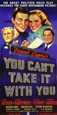 You Can't Take It with You - 11 x 17 Movie Poster - Style B