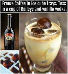 alcoholic coffee drinks Apple Cider is part of Apple Cider Cocktails That Are Perfect For The Fall - Baileys Vanilla Vodka Coffee Drink Liquor Drinks, Cocktail Drinks, Alcoholic Drinks, Vodka Cocktails, Lemonade Cocktail, Coffee Cocktails, Raspberry Lemonade, Party Drinks, Coffee Drink Recipes