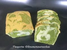 Matcha Marble Butter Cake