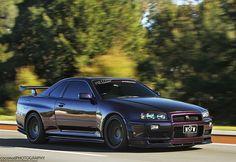 Nissan Skyline R34 GTR V Spec M.N.P II