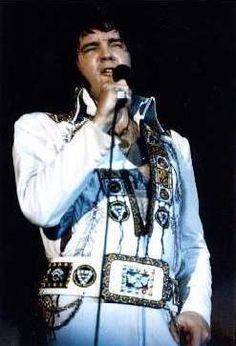 Image result for Elvis Presley, Roberts Stadium, Evansville, Indiana. 1976