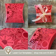 This laser cut gift box is ideal for a wedding or any event. Add this template to your product list or kick start a new range today. Wedding Gift Boxes, Wedding Favors For Guests, Wedding Cards, Wedding Gifts, Paper Box Template, Origami Templates, Box Templates, Fabric Dolls, Rag Dolls