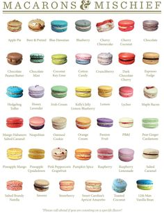 Ladyyum in Kirkland, we could order macarons Beaux Desserts, Fancy Desserts, Delicious Desserts, Yummy Food, Fun Baking Recipes, Sweet Recipes, Dessert Recipes, Cooking Recipes, Macaron Flavors