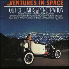 """The Ventures, The Ventures In Space worlds greatest cover band. The Ventures had a sound, and you could say """"They Venturized everything"""". The Ventures, Surf Music, Fourth Dimension, One Step Beyond, Feelin Groovy, Lp Cover, Cover Band, Shock Wave, Rock Of Ages"""