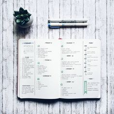 Bullet journal weekly layout by ig Bullet Journal Simple, Bullet Journal Minimalist, Bullet Journal 2019, Bullet Journal Notes, Bullet Journal Spread, Bullet Journal Ideas Pages, Bullet Journal Layout, Bullet Journal Inspiration, Book Journal