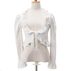 白フリルボレロ  ロリィタファッション BABY THE STARS SHINE BRIGHT (3990)