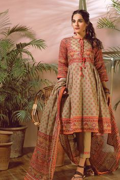 Bonanza Satrangi Summer Lawn Designer Dresses 2018-2019 Collection