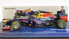 Minichamps 410130002 Infiniti Red Bull Racing RB9  2  Mark Webber  F1 2013 003155fa4eb57