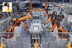O uso da robótica na automação industrial