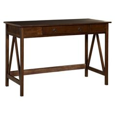 Titian Writing Desk - Brown.Opens in a new window