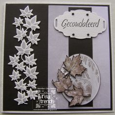 Kreatrends Leaf Cards, 3d Cards, Sorry Gifts, Thank You Gifts, Cute Gifts, Diy Gifts, Sympathy Cards, Greeting Cards, Sorry Cards