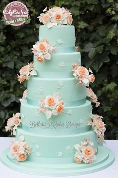 ~ Vintage inspired Wedding Cake ~