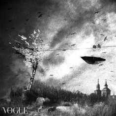 More fabulous surreal photography by Bloodyloud favourite fine art photographer Cristina Venedict. Surrealism Photography, Fine Art Photography, Life Is Beautiful, Wonderland, Digital Art, Black And White, Landscape, Painting, Outdoor