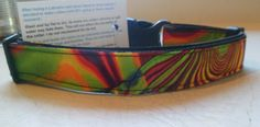 Handmade N.Z design dog collars by CollarsbyChris on Etsy