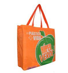 60592e0f1 Bolsa Reutilizable Eco 46 olsa para compras autoempacable en tela poliester  antifluidos. Medidas aproximadas: Ancho:45cm Alto:38cm Fuelle falso:12cm