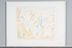 Jan Kenneth Weckman, 1984, litografia, 35x43 cm, edition 43/300 - Huutokauppa Helander 10/2015