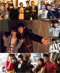 IU gets friendly with her co-stars in BTS photos for 'You're the Best Lee Soon Shin'