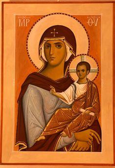 Orthodox Icons, Religious Art, Christmas Art, Goddesses, Madonna, Mona Lisa, Bamboo, Saints, Houses